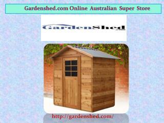 Buy Timber Sheds, Garden sheds Online Sale.
