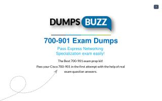 Purchase REAL 700-901 Test VCE Exam Dumps
