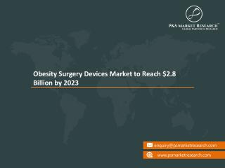 Bariatric Surgery Devices Market Comprehensive Review of its Applications Growth Opportunities and Future Prospects