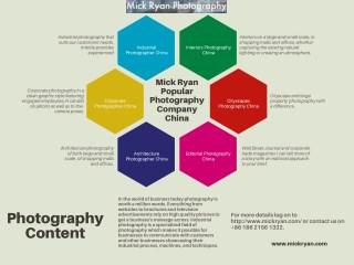 Corporate Photographer China