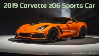 2019 Chevy Corvette Z06 Sports Car for sale at Westside Chevrolet Houston TX