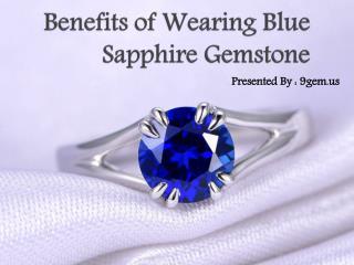 Benefits of Wearing Blue Sapphire Gemstone