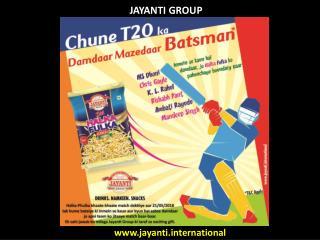 Jayanti Group Jayanti Snacks with IPL 2018 Effects