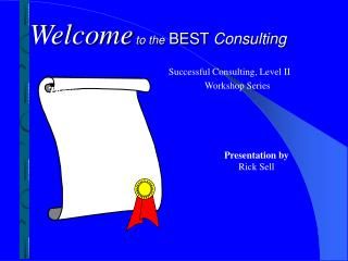 Welcome to the BEST  Consulting