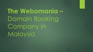 Buy .my .com Domains in Kuala Lumpur & Johor Bahru – The Webomania