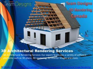 3d rendering Service