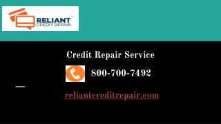 Benefit of Credit Repair Service - Reliant Credit Repair