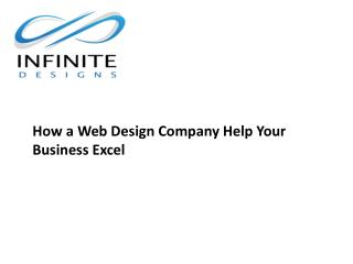 How a Web Design Company Help Your Business Excel