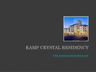The Crystal Residency