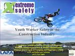 Youth Worker Safety in the Construction Industry