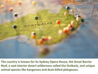 Australia Tourist Visa, Documents Required And Places To Visit - Sanctum Consulting