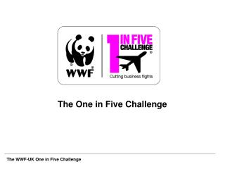 The One in Five Challenge