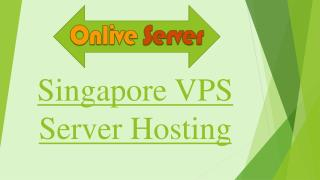 Reliable Singapore VPS Server Hosting Plans