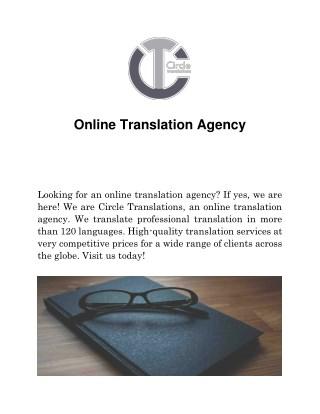 Online Translation Agency