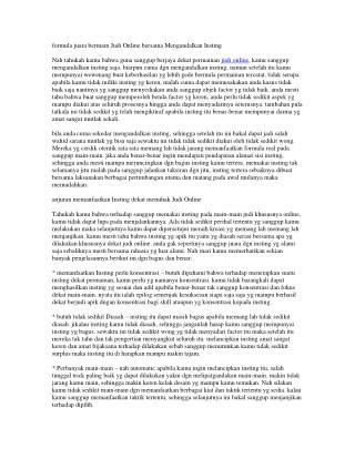 CASINOBET77 JUDI ONLINE AMAN & TERPERCAYA