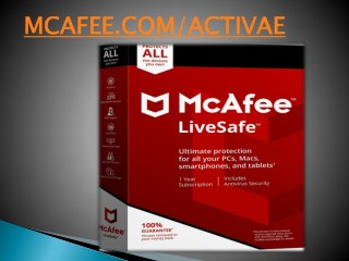 Mcafee activate - www.mcafee.com/activate | Antivirus Setup