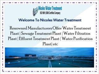 Best Sewage Treatment Plant In Delhi