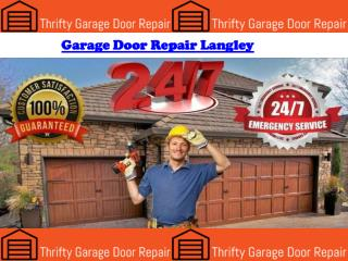 Garage Door Repair Langley