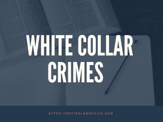 All You Need To Know About White Collar Crimes