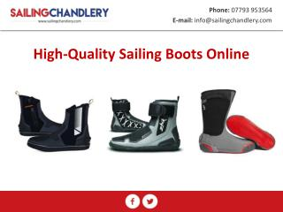 High-Quality Sailing Boots Online