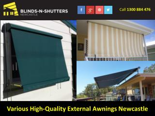 Various High-Quality External Awnings Newcastle