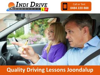 Quality Driving Lessons Joondalup
