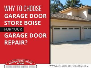 Garage Door Store Boise – Garage Door Repair & Installation