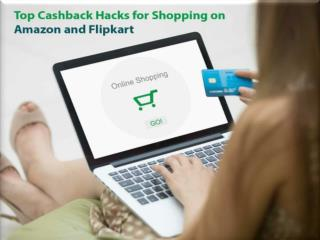 Top Cashback Hacks for Shopping On Amazon And Flipkart