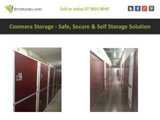 Coomera Storage - Safe, Secure & Self Storage Solution
