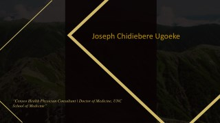 Joseph Chidiebere Ugoeke - Censeo Health Physician Consultant From New York