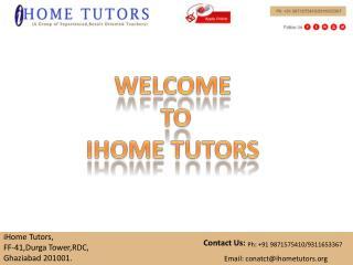 Home Tutor in Ghaziabad