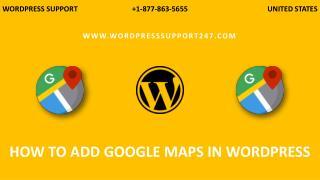 How To Add Google Maps In WordPress Website | Google Maps Plugins