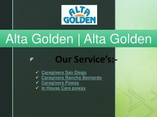 Alta Golden | Alta Golden