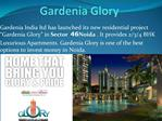 Gardenia Glory 2,3,4BHK Luxurious Apartments In Noida,At Rea