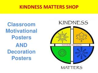 Classroom posters to increase performance of students