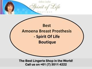 Best Amoena Breast Prosthesis - Spirit Of Life Boutique