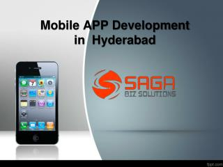 Mobile App Development Company Hyderabad, Mobile App Developers in Hyderabad – Saga Bizsolutions