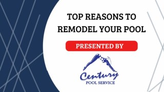 Top Reasons to Remodel Your Pool