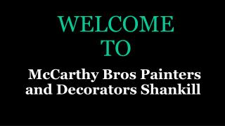 Painting And Decorating Service in Dublin