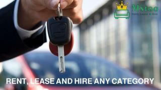 Contract Hire and Leasing with Mstoo