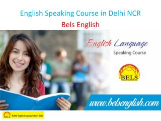 English Speaking Course in Delhi NCR