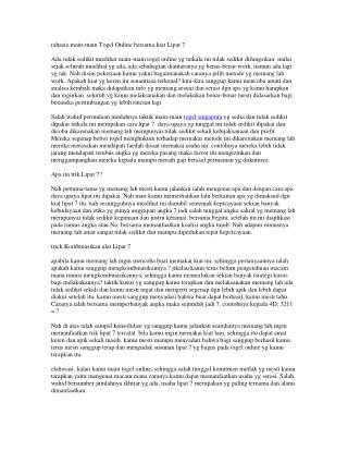 CASINOBET77 TOGEL ONLINE TERPECAYA