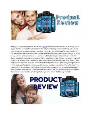 Tevida - Best Supplement For Body Muscle