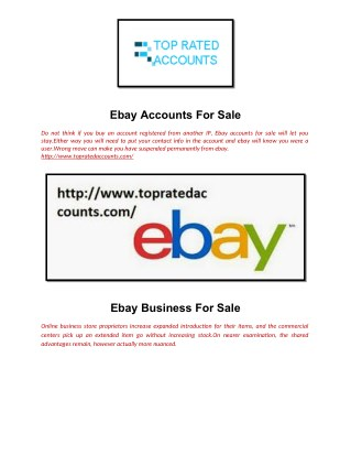 PPT - Ebay Accounts For Sale PowerPoint Presentation - ID