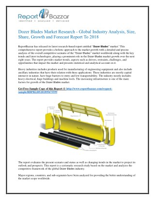 Dozer Blades Market Size and Industry Forecast 2025 – Shares and Strategies of Key Players