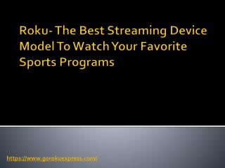 The Best Streaming Device To Watch Your Favorite Sports Programs