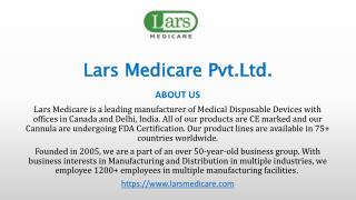 Lars Medicare Medical Disposable Products