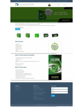 Amaron Batteries for Cars, Vehicles, Four Wheelers, Automotive Battery Dealers and Suppliers in Doha, Qatar - Positivetr