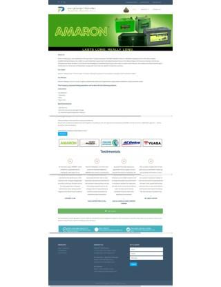 Amaron Batteries, UPS Batteries, Lubricant Oils Suppliers for Cars, Vehicles in Doha, Qatar - Positivetradingqatar.com