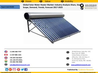 Solar Water Heater Industry